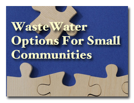 WasteWater Options for small and rural communities