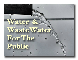 Wastewater information for the public